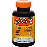 4 Pack of American Health Ester-C Powder with Citrus Bioflavonoids - 4 oz - - -