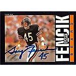 e4e2ef0db02 Gary Fencik autographed Football Card (Chicago Bears) 1985 Topps #25 - NFL.