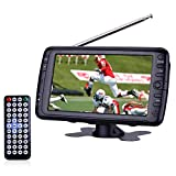 Best Portable Digital TVs - 7 inch Portable LCD Digital ATSC TV/Monitor Handheld Review
