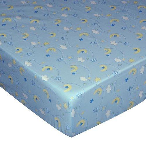 Wish I May Cotton Crib Sheet