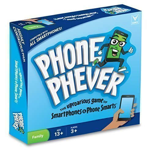 Phone Phever Board Game — Best New Fun Fast-Paced Family-Friendly Party Board Game — It's a Phonetastic Race to Answer Fascinating Trivia Questions and Complete Hilarious Challenges!