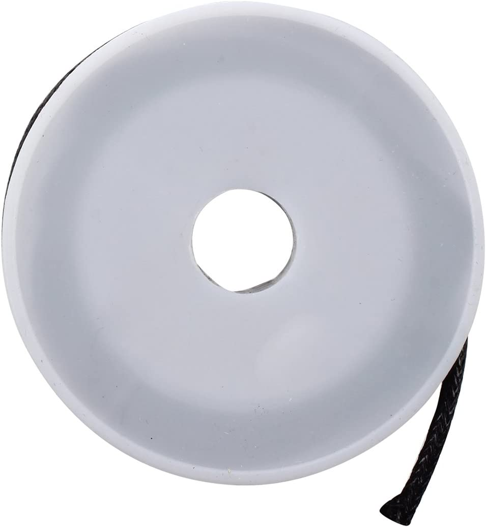 SODIAL R 10 mt laccio laccetto cordino cerato nero 2mm in cotone