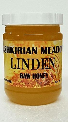 Bashkirian Raw Linden Honey 454G/16oz by Goshen