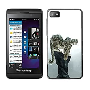 YOYO Slim PC / Aluminium Case Cover Armor Shell Portection //Cool Snow Leopard //Blackberry Z10