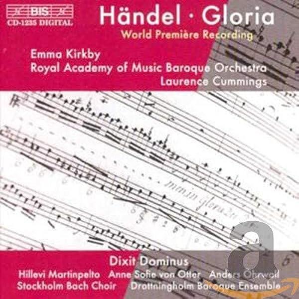 Händel: Gloria & Dixit Dominus: Cummings, Laurence: Amazon.es: Música