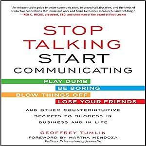 Stop Talking, Start Communicating Audiobook
