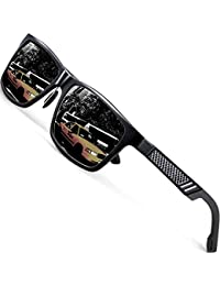 Men's Hot Retro Driving Polarized Wayfarer Sunglasses...