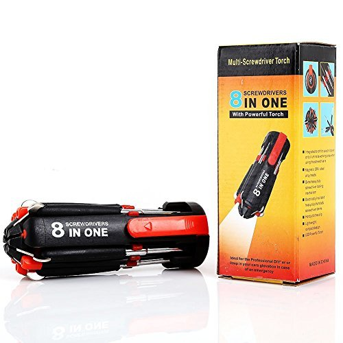 8 in 1 Multi-Screwdriver Set With LED Torch - 4