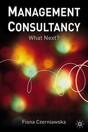 Management Consultancy: What Next?