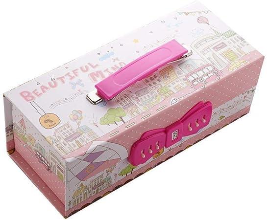 Estuche para lápices, estuche para bolígrafos con cierre de contraseña con espejo, gran capacidad, organizador de almacenamiento para niñas, niños, estudiantes, adultos, regalos pink_gogo: Amazon.es: Hogar