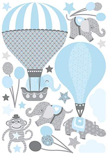Anna Wand - Pegatinas de globos aerostáticos para pared de ...