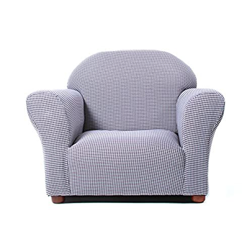 Delicieux KEET Roundy Kidu0027s Chair Gingham, Navy