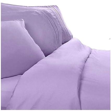 Amazon.com: Twin XL Extra Long Sheets: Lilac Lavender, 1800 Thread