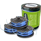 Greenworks 065-Inch Dual Line String Trimmer Replacement Spool 3-Pack 2900719 (4 Packs of 3.)