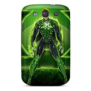 Hot InD14218OpZT Green Lantern I4 Tpu Cases Covers Compatible With Galaxy S3
