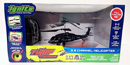 Ignite falcon Flyer BlackHawk Radio Control 3.5 Channel Helicopter R/C Reviews