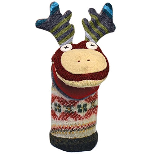 Moose Hand Puppet - 4