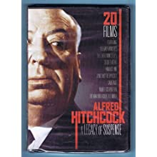 ALFRED HITCHCOCK A Legacy of Suspense 20 FILMS DVD 4-Disc Set