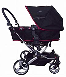 Englacha Easy Stroller, Black