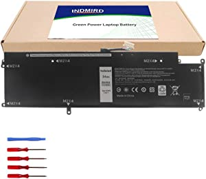 Indmird OEM XCNR3 Laptop Battery Replacement for Dell Latitude 13 E7370 7370 Ultrabook WY7CG XCNR3 P63NY N3KPR (New,7.6V,34Wh)