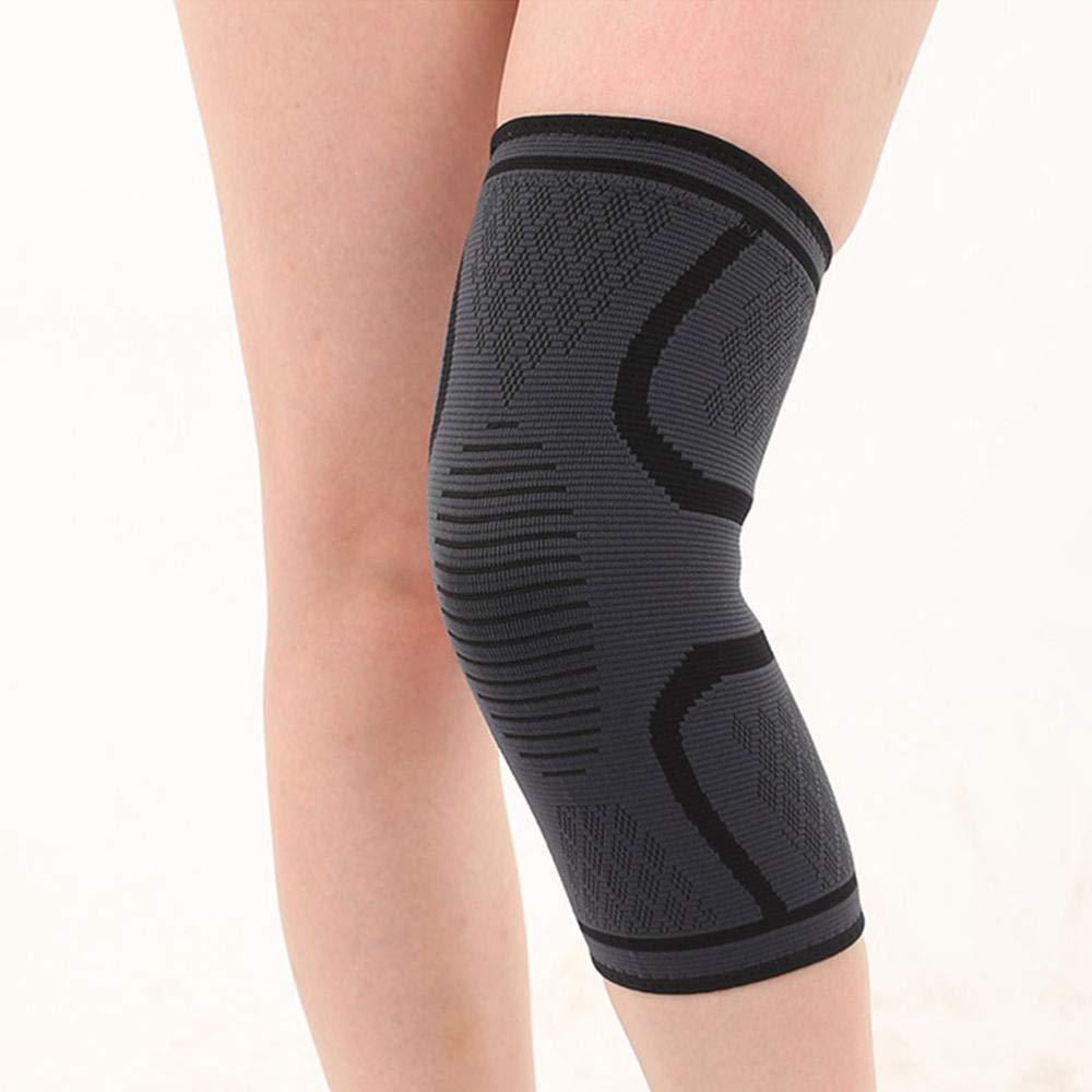FOONEE Silikon Anti-Rutsch Knieschoner Atmungsaktiv Anti-Rutsch Elastische Kniebandage f/ür Laufen Schmerzlinderung Arthritis Meniskusrisriss Sport Schmerzlinderung