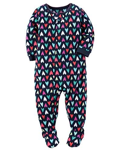 Carters Girls Piece Fleece Sleepwear