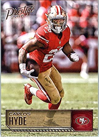 Team Set!! 2016 PANINI Carlos HYDE!!! 11 cards!! 49ers