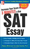 Increase Your Score in 3 Minutes a Day: SAT Essay, Randall McCutcheon, James Schaffer, 0071440429
