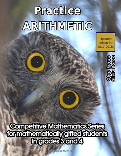 Download Practice Arithmetic: Level 2 (ages 9 to 11) (Competitive Mathematics for Gifted Students) (Volume 7) pdf epub