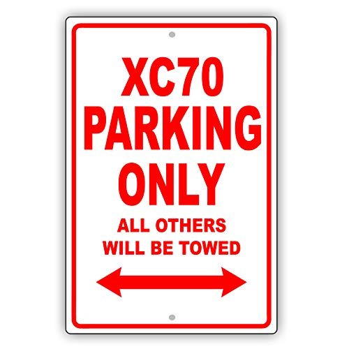 Volvo XC70 Parking Only All Others Will Be Towed Ridiculous for sale  Delivered anywhere in Canada