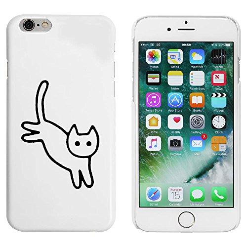 Blanc 'Chat Mignon' étui / housse pour iPhone 6 & 6s (MC00089803)