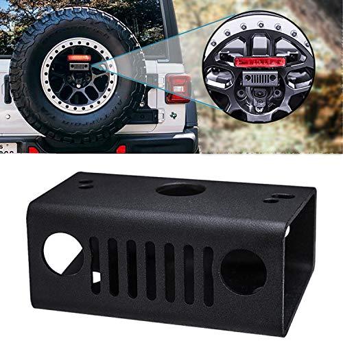 Seven Sparta Third/3rd Brake Light Relocation Kit for 2018 Jeep Wrangler JL/JLU (Jeep Third Brake Light)