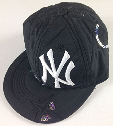 New York Adult SZ 7 Fitted Hat Sequins RARE Error Cap NBA Soft USA Made (1st Picture, Star on - Giants Rodriguez Alex