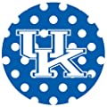 Thirstystone Stoneware Coaster Set, University of Kentucky Dots