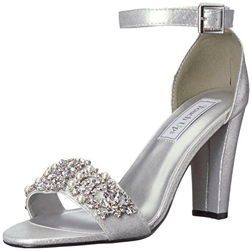 Heeled Sandal Felicity Women's Silver Ups Touch vwZHqgxFt