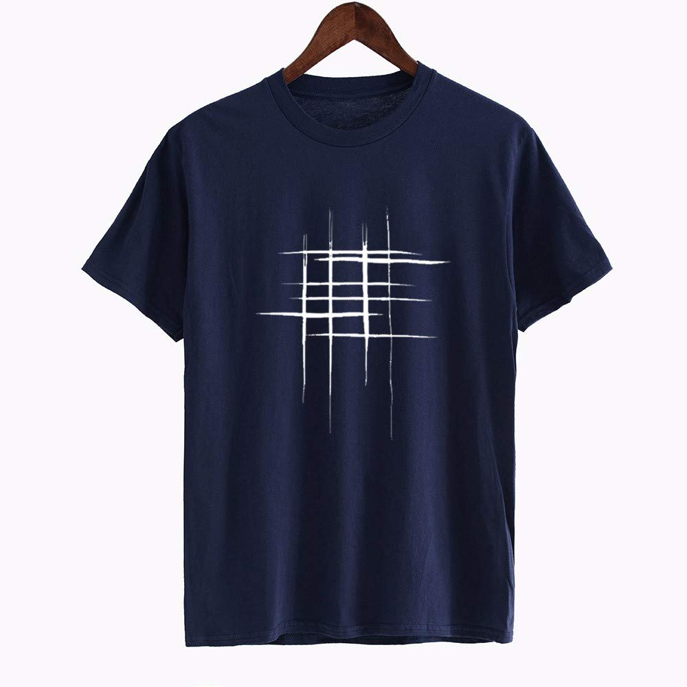 Jing Tees Mens Cotton Crew T-Shirt Scars and Scratches Printed Tee Shirts