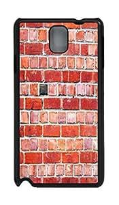 iCustomonline Fond De Texture De Mur De Rouge Personalized PC Case Back Cover for Samsung Galaxy Note 3 N9000 by mcsharks