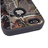 Hybrid Outter-box Bumper Tuff Base Apple Iphone 5 (At&t/verizon/sprint) Camo Realtree Camouflage Hunter Series,