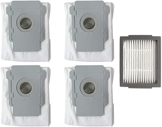 CAOQAO - Bolsa de Filtro de Papel para aspiradoras de Agua y Polvo ...