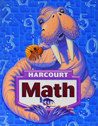 Harcourt Math, Grade 3, Student Edition