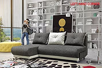 Pleasant Bella Sofa Bed Fabric And Leather Grey Space Saver Very Ocoug Best Dining Table And Chair Ideas Images Ocougorg