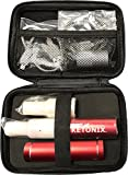New KETONIX RED USB BATTERY PACK INCLUDED Reusable Breath Ketone Level Analyzer of Acetone Levels NOT BHB with Painfree, no strips required, one time fee