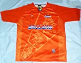 2010 SOUTH AFRICA WORLD CUP HOLLAND NETHERLANDS PRO PATRIOTIC FLAG Soccer Jersey :: Pro Futball Jersey LARGE