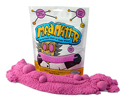 Mad Mattr Super-Soft Modelling Dough Compound that Never Dries Out, 10 Ounces, Pink