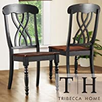 Dining Chairs On Sale! - Looking for Dining Chairs? This Country Black Dining Chair (Set of 2) Is The Perfect Choice For You! Satisfaction Guaranteed! a.k.a dining room chairs, kitchen dining chairs, chairs for dining room, dining chairs black, dining chairs set of 2