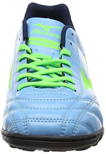 Mizuno Monarcida Neo As, Botas de Fútbol para Hombre Azul (Norse Blue/neon Green)