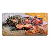 Style in Print Two Sacks And A Bottl (Van Gogh) Car Aluminum License Plate