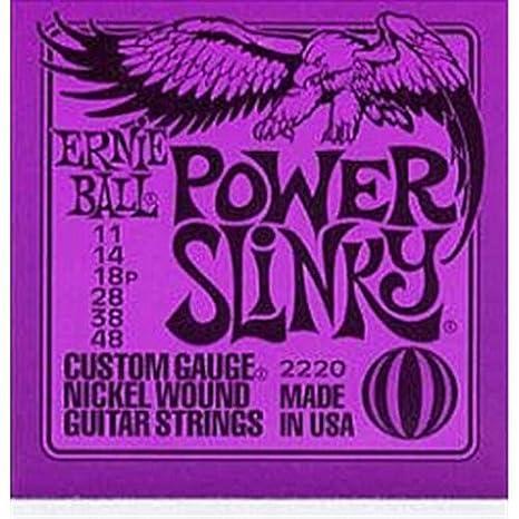 Traje cuerdas para guitarra eléctrica Ernie Ball 2220/c778 C (011 - 048): Amazon.es: Instrumentos musicales