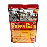 Horse Guard Super Weight Gain Equine Vitamin Mineral, Probiotic & Weight Gain Supplement, 10 lb