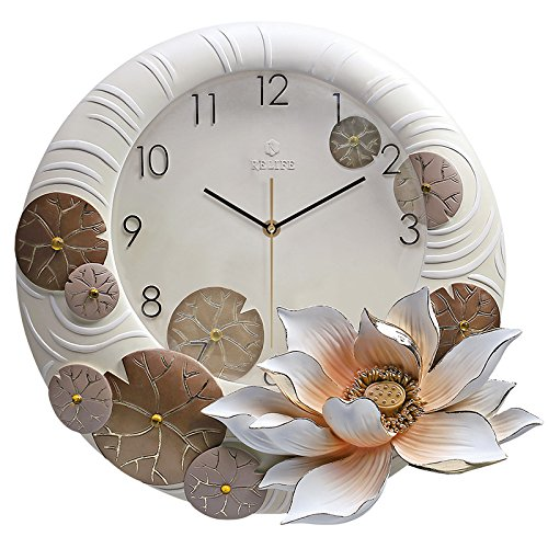 Patined Modern Minimalist Decoration Living Room Wall Clock Clock Watch Stereo Fashion Creative Relief Decoration